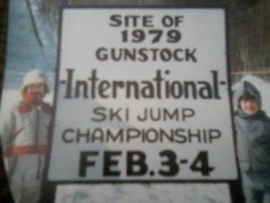 JLS and brother ski jump